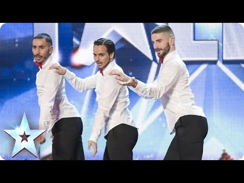 britain 39 s got talent 3 french guys with heels audition. Black Bedroom Furniture Sets. Home Design Ideas