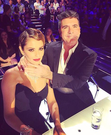 Simon Vs Cheryl - The X Factor 2014