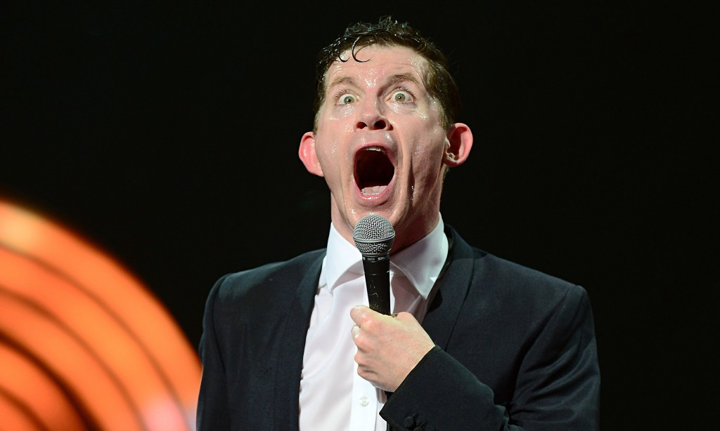 Lee Evans live at the O2 in London