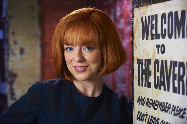 Sheridan Smith playing Cilla