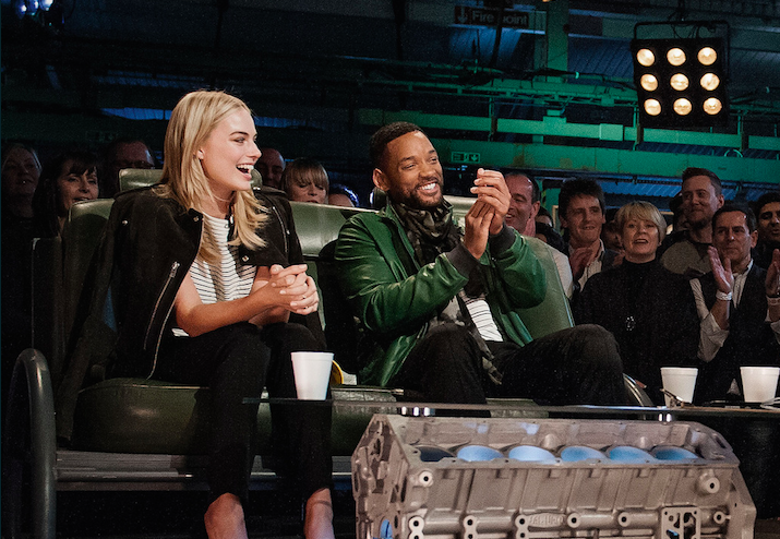 Will Smith and Margot Robbie take on Top Gear's 'Star In A Reasonably Priced Car'!