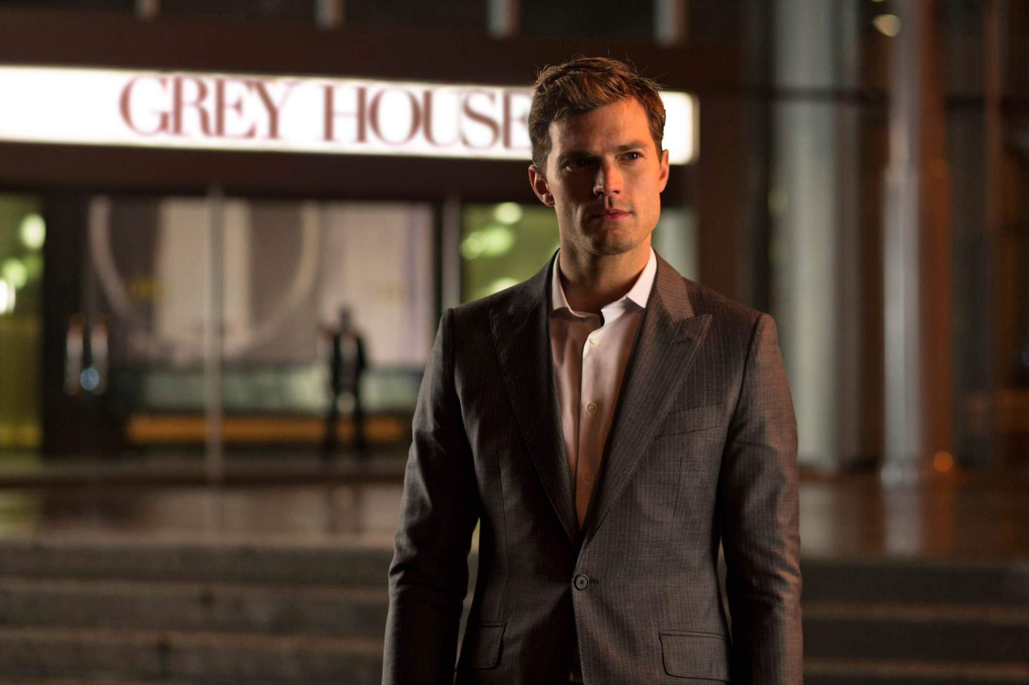Jamie Dornan says his wife supports him being in 50 Shades sequel!
