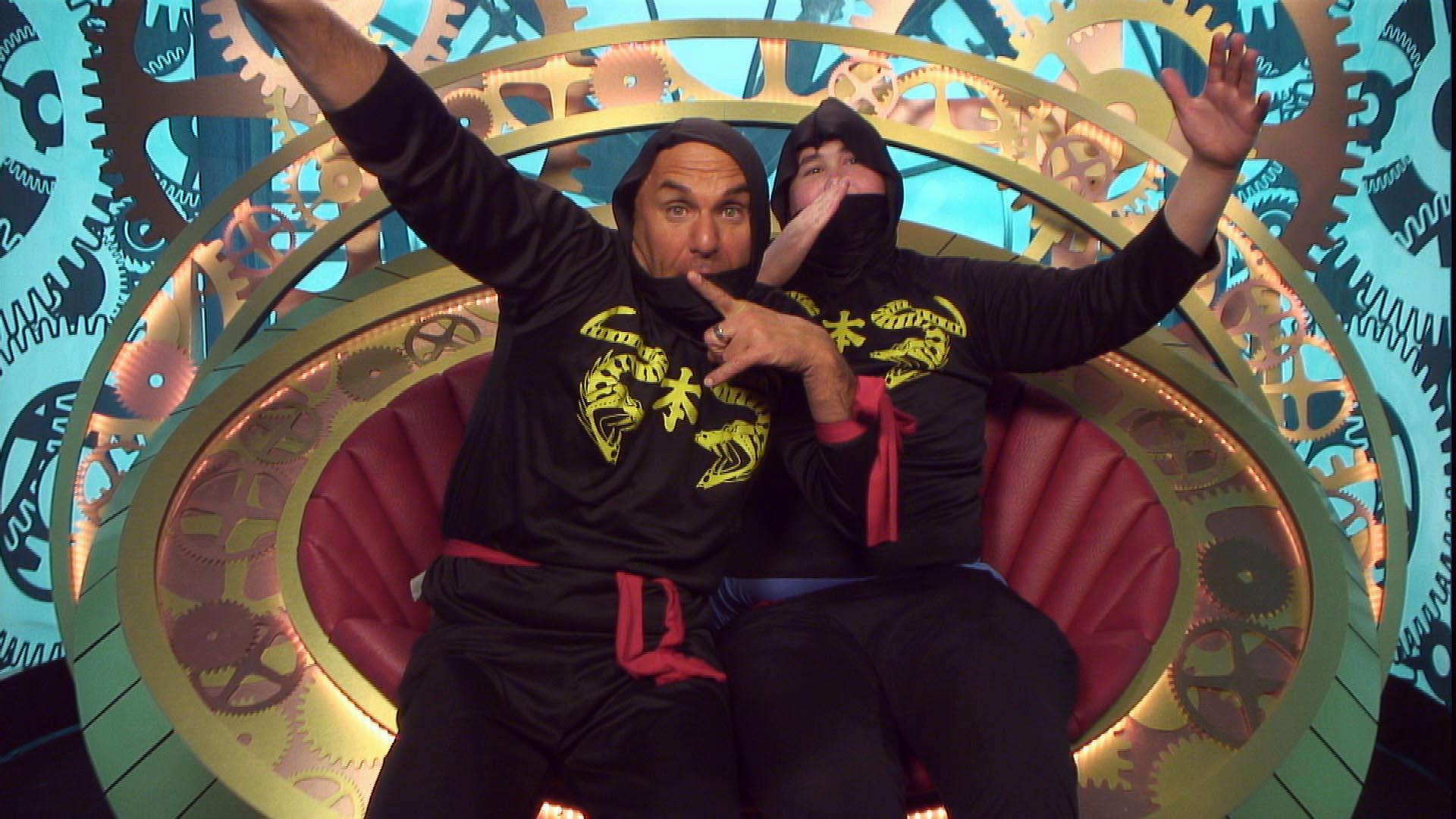 Big Brother 2015: Jack And Simon To Become 'night Ninjas