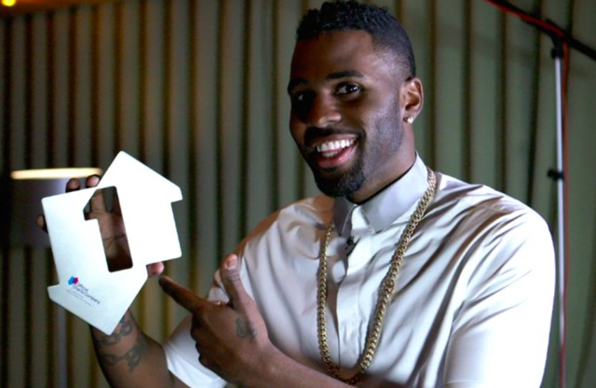 Jason Derulo celebrates second week at Number 1 with 'Want To Want Me'!