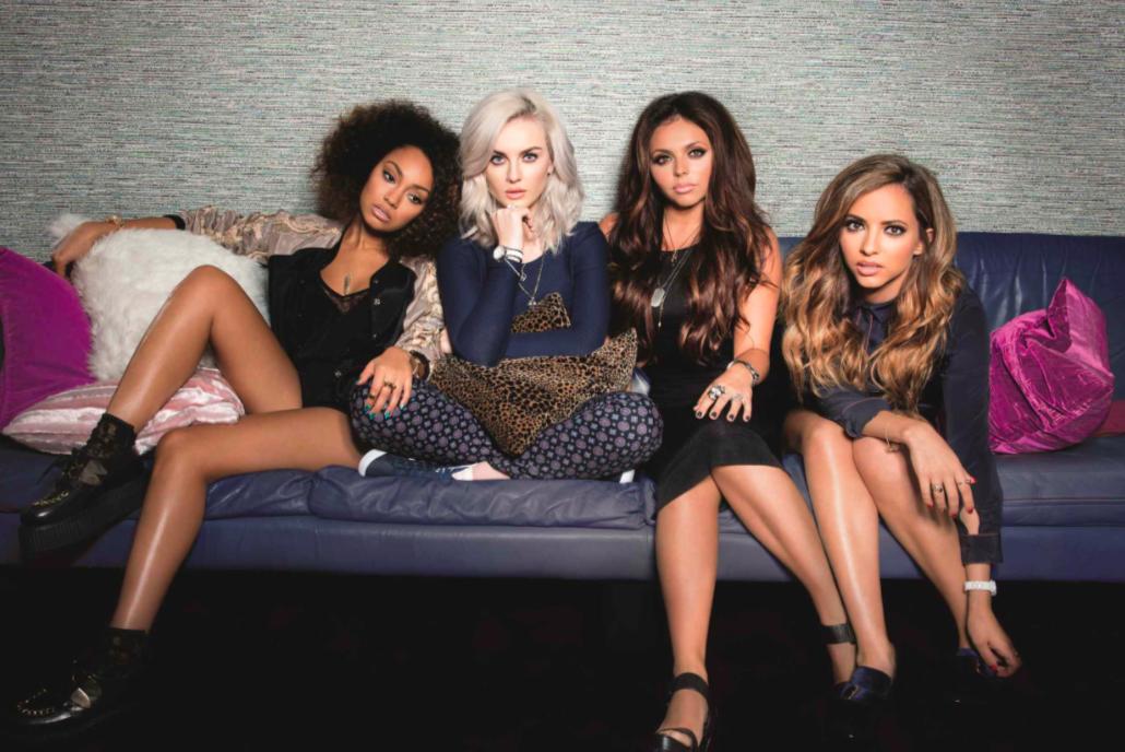 Little Mix announce their first perfume 'Gold Magic'!
