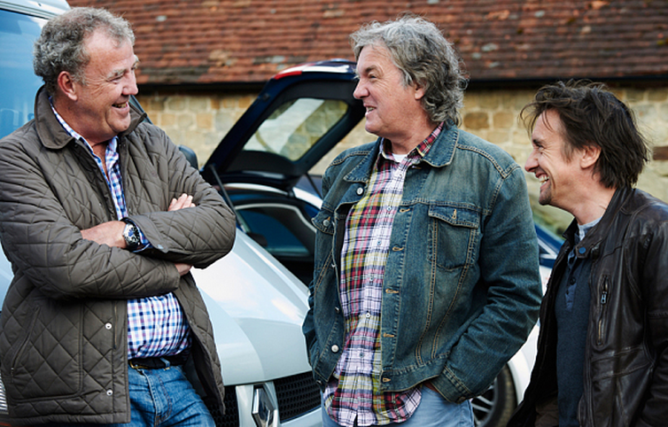 jeremy clarkson richard hammond and james may sign new car show deal with amazon. Black Bedroom Furniture Sets. Home Design Ideas