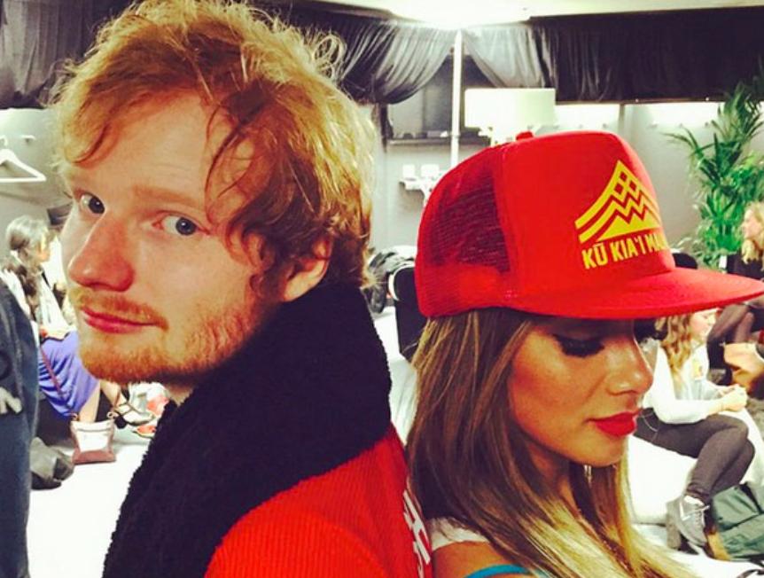 Ed Sheeran and Nicole Scherzinger are dating!