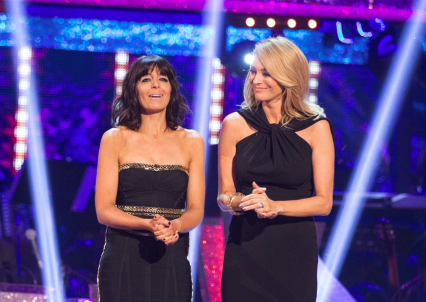 StrictlyComeDancing2014Hosts