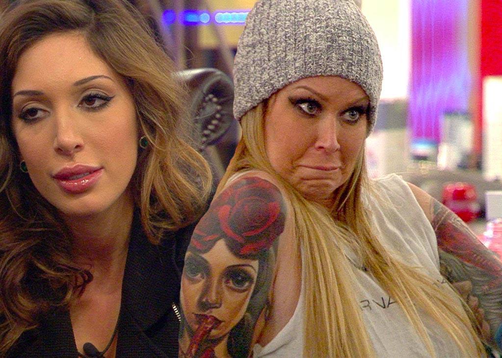 Celebrity Big Brother 2015: Farrah and Jenna enter secret house after being fake evicted!