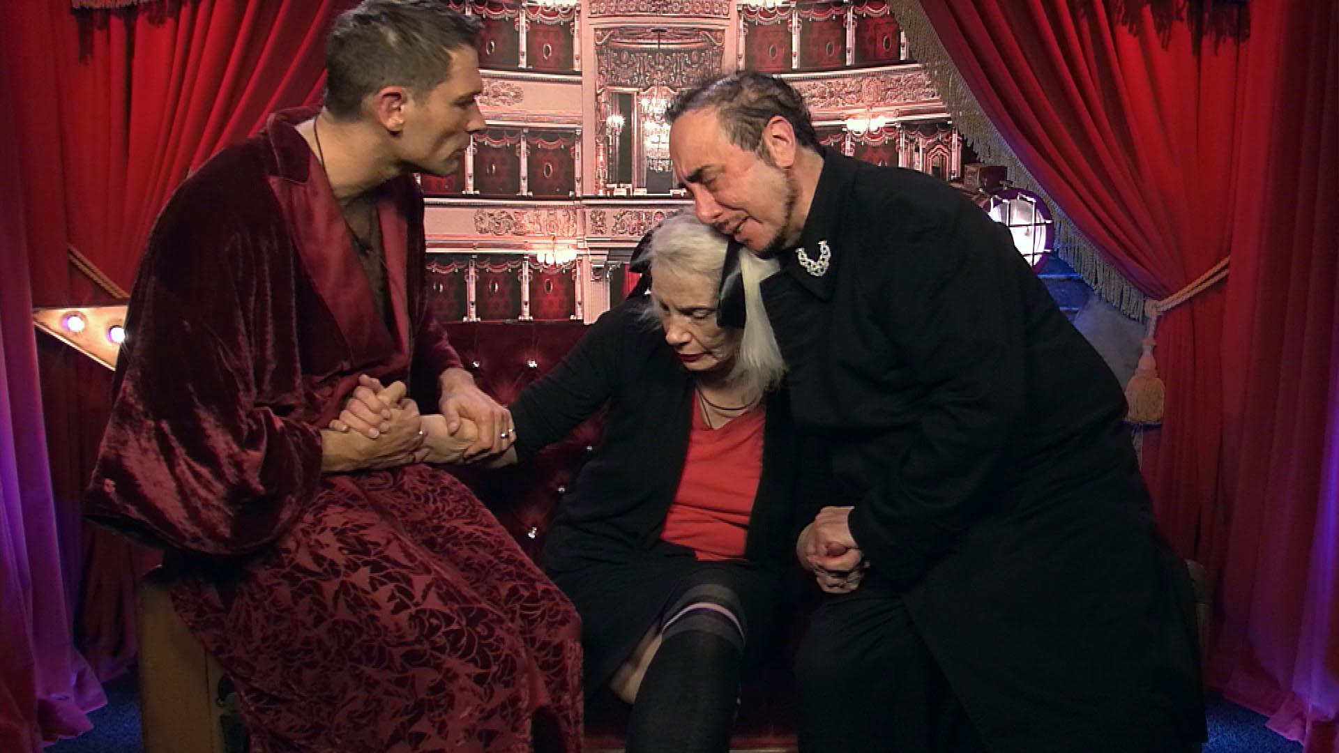 John, Angie and David.