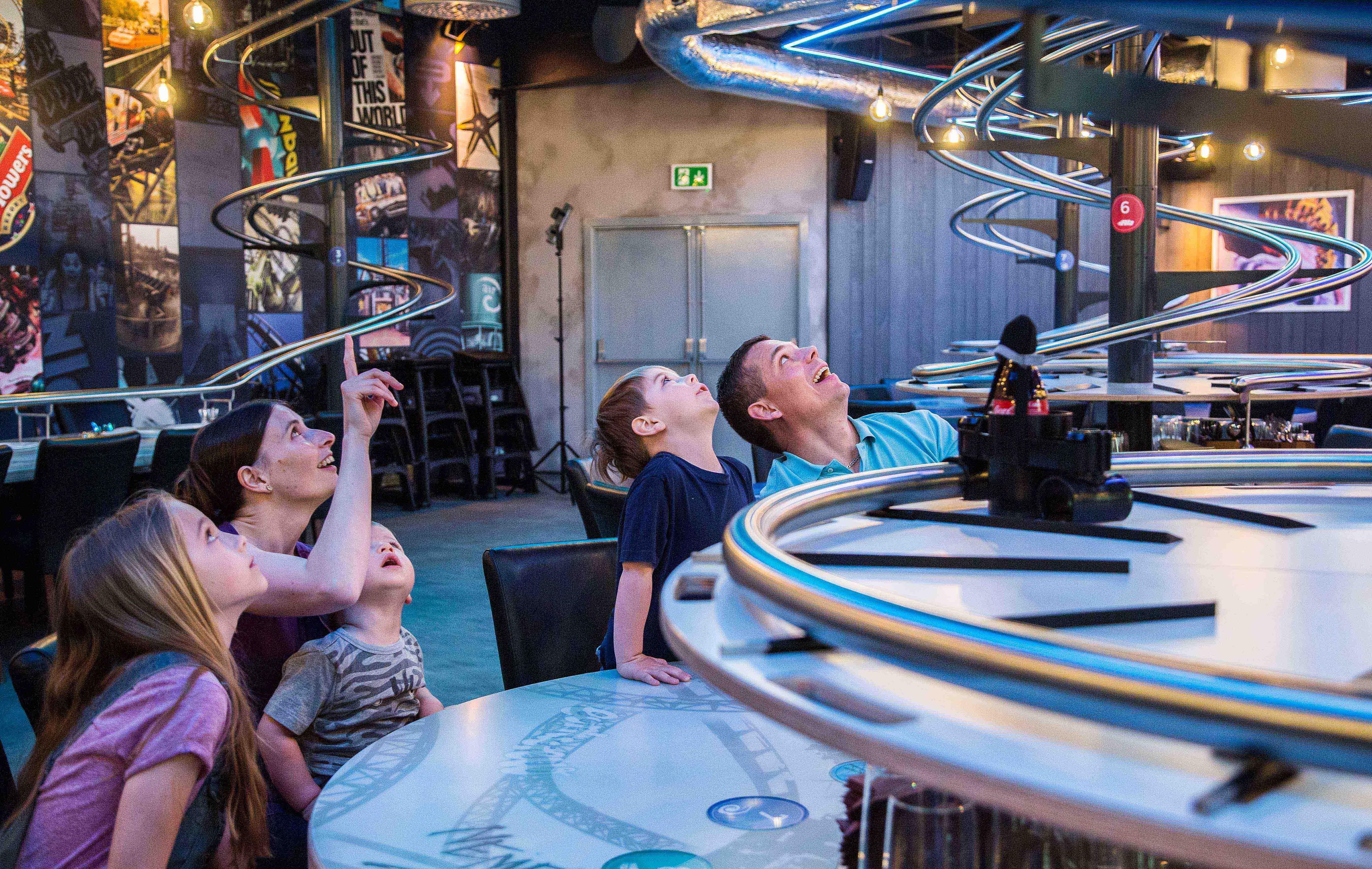 Look Inside Alton Towers New Rollercoaster Restaurant