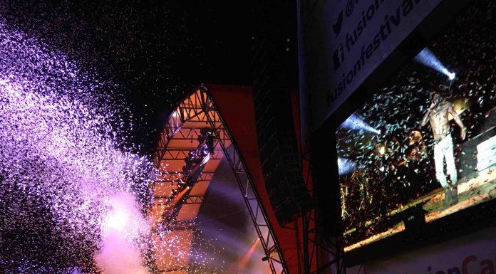 Jason Derulo closing Fusion Festival 2016 Saturday
