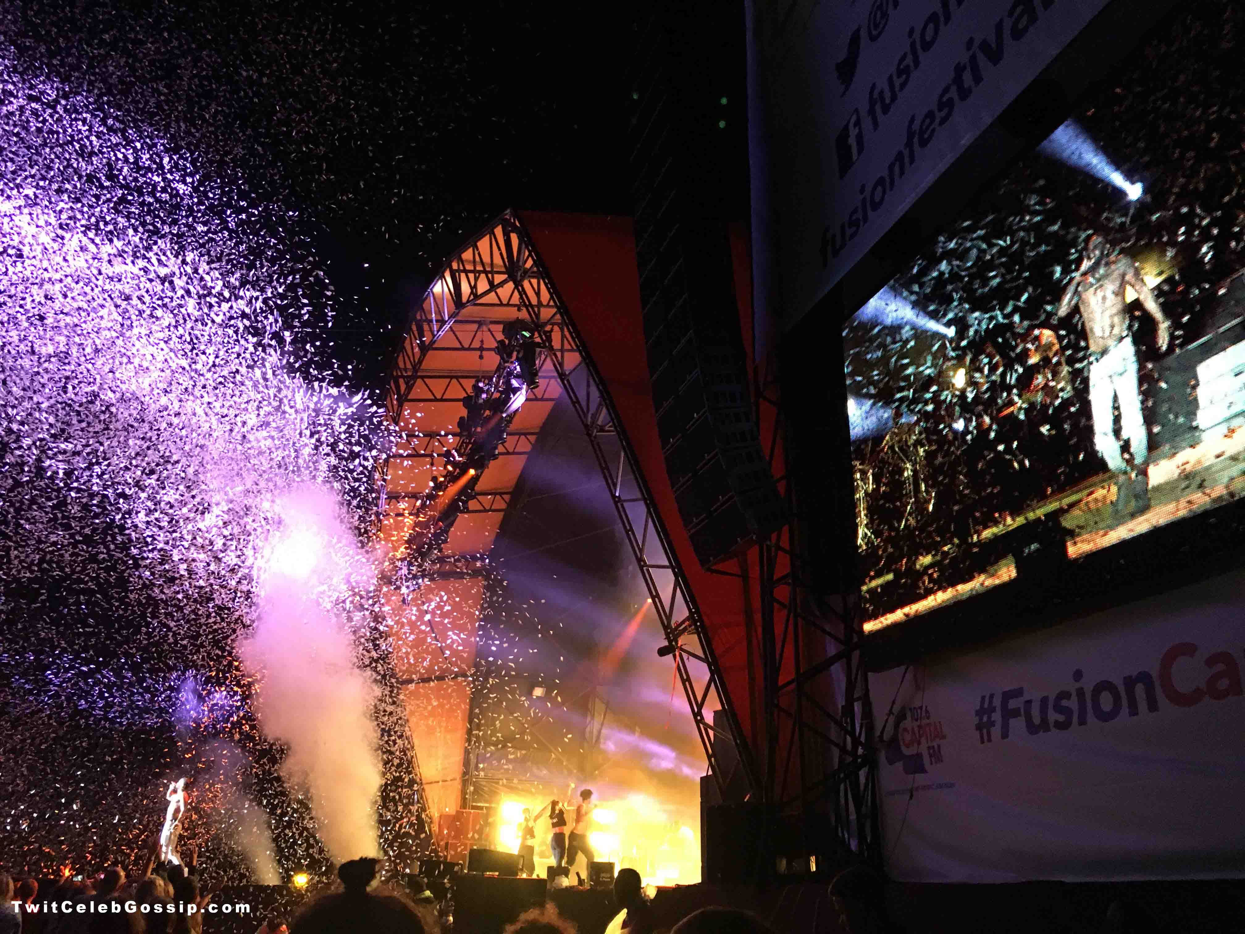 Jason Derulo closing Fusion Festival 2016 Saturday