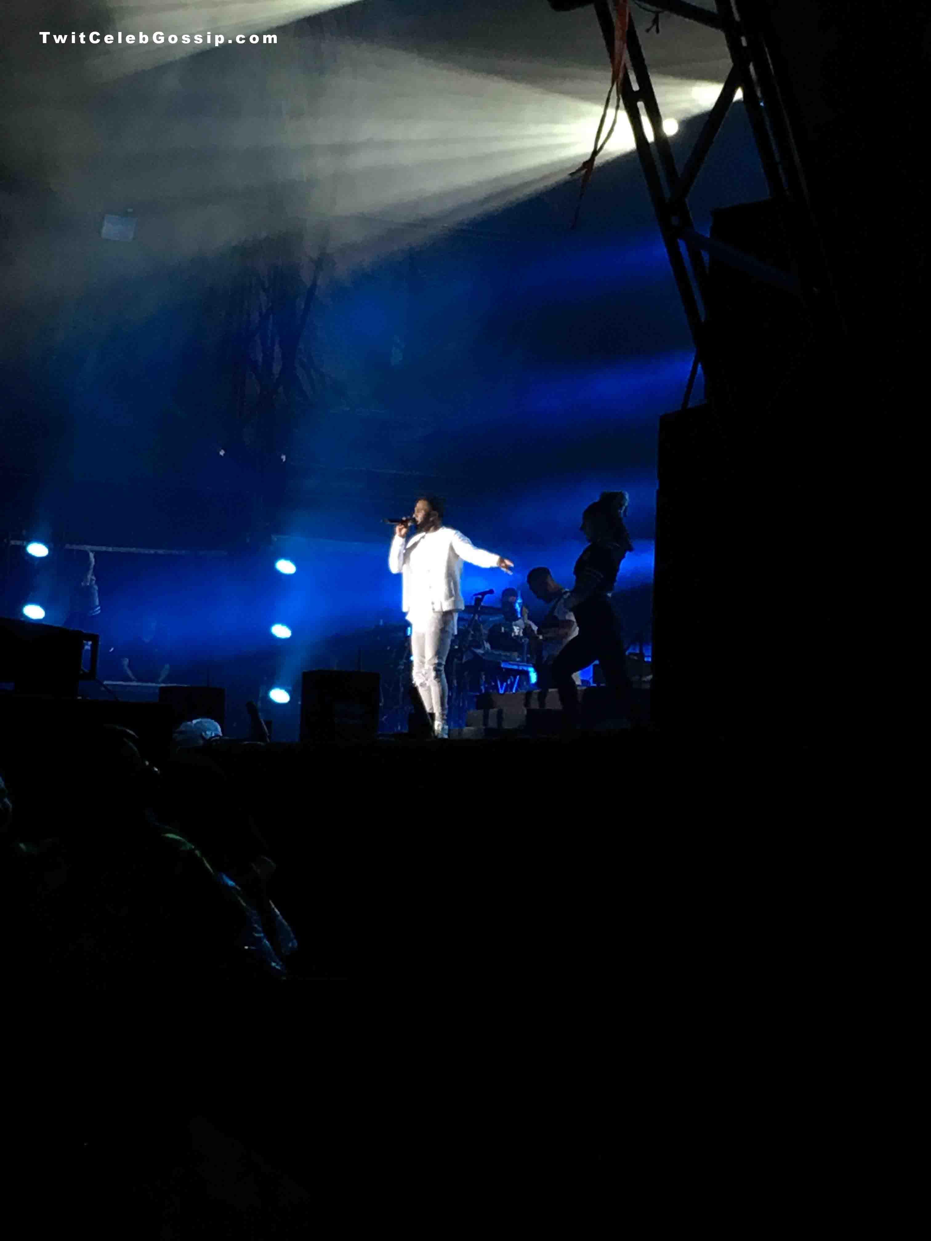 Jason Derulo onstage at Fusion Festival