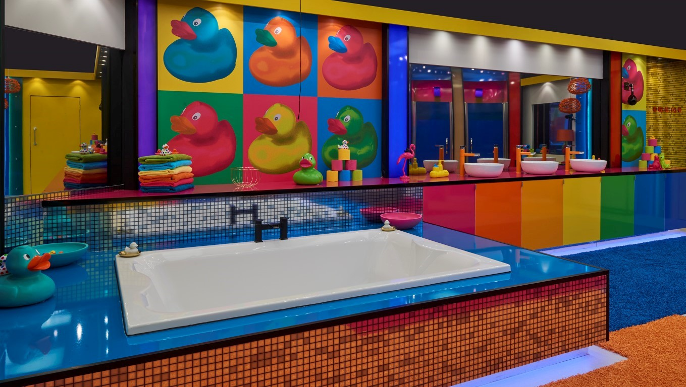 celebrity big brother 2017 house pictures revealed