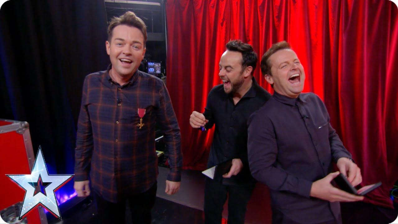 Britain's Got More Talent host Stephen Mulhern reveals he's a Lord, sort of! | Britain's Got Talent 2017 | TwitCelebGossip