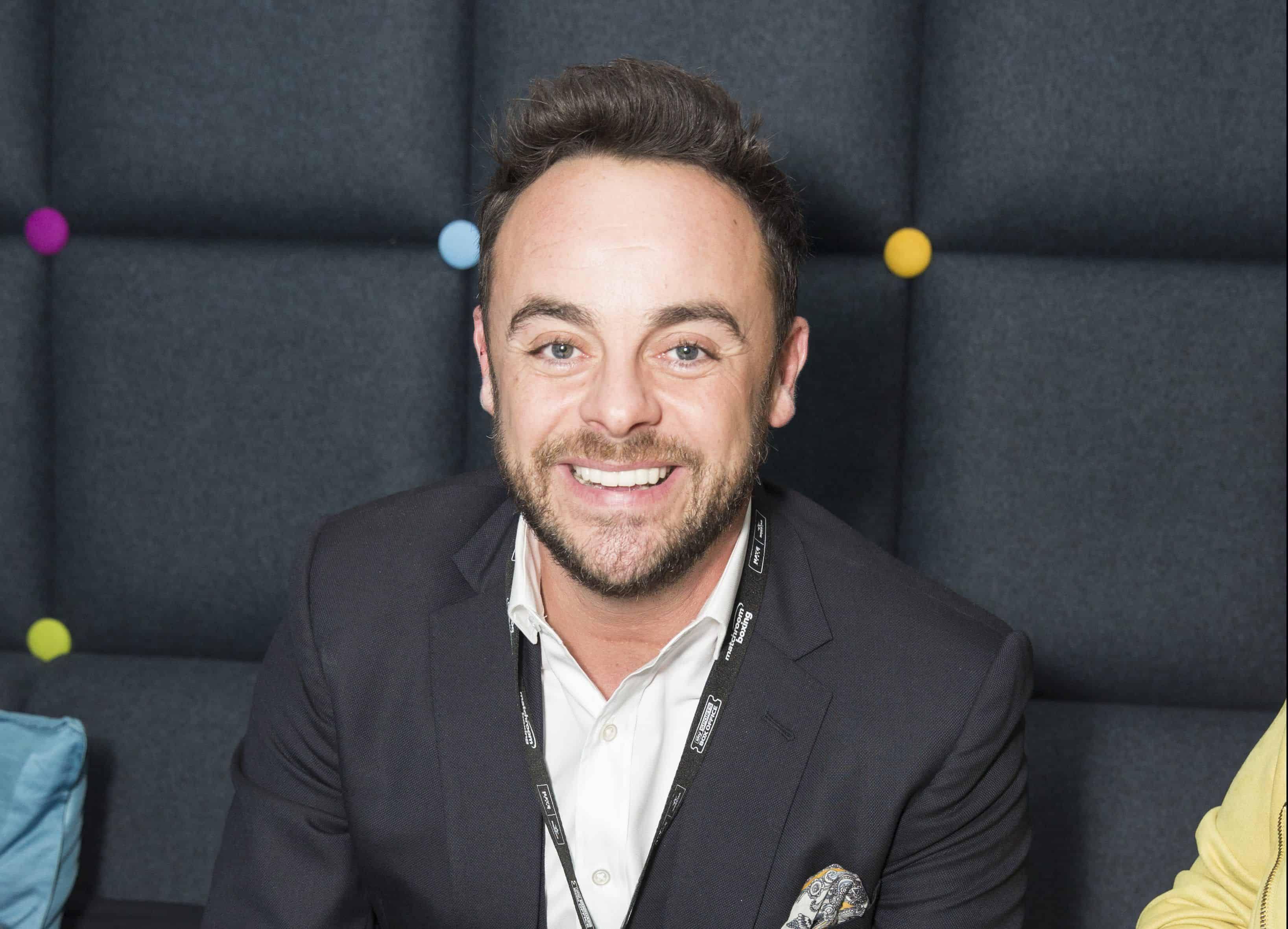 Ant McPartlin has checked into rehab for drink and drug problems