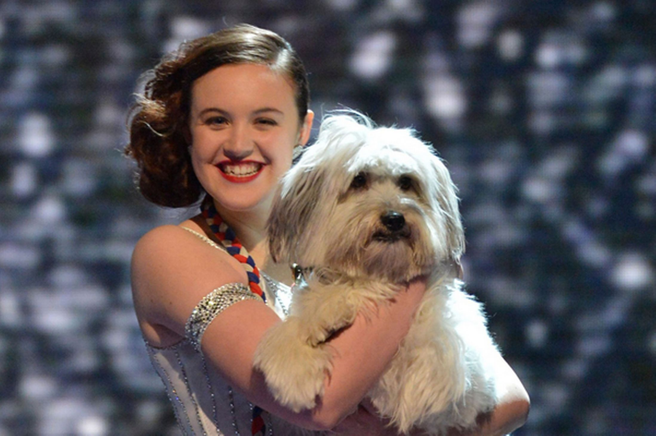 Pudsey from 'Ashleigh and Pudsey' has sadly died!