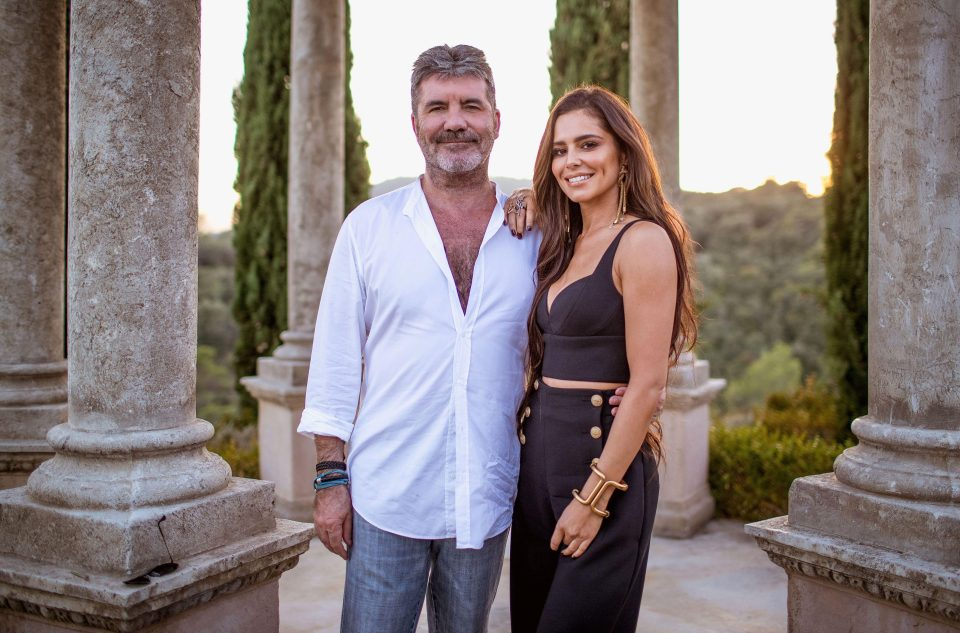 Cheryl returns to The X Factor for Simon Cowell's Judges Houses