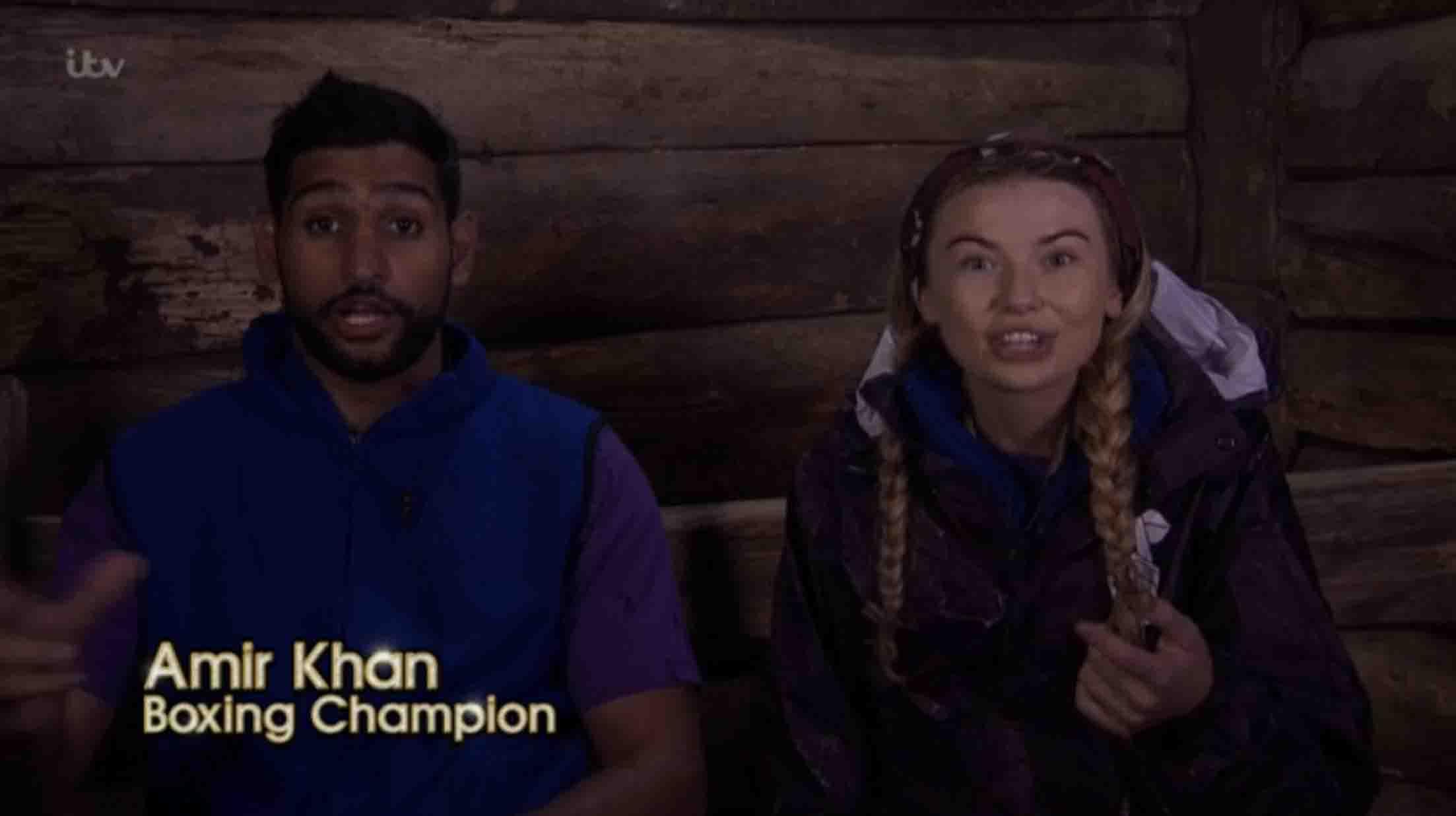 Amir Khan's I'm A Celeb Error Revealed Live On Air