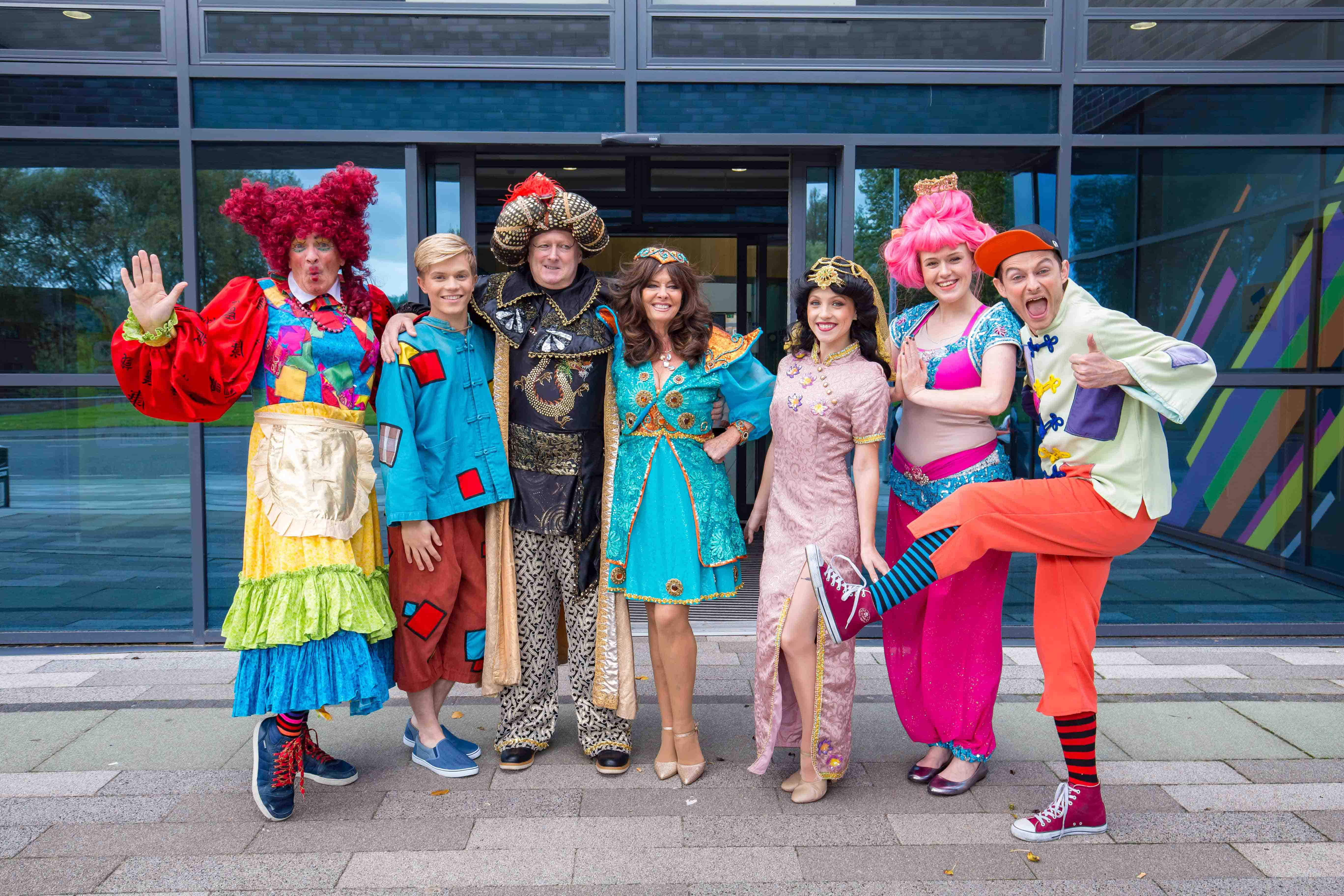 Review Aladdin Pantomime Northwich Memorial Court!  sc 1 st  TwitCelebGossip & Review: Aladdin Pantomime Northwich Memorial Court! | Theatre ...