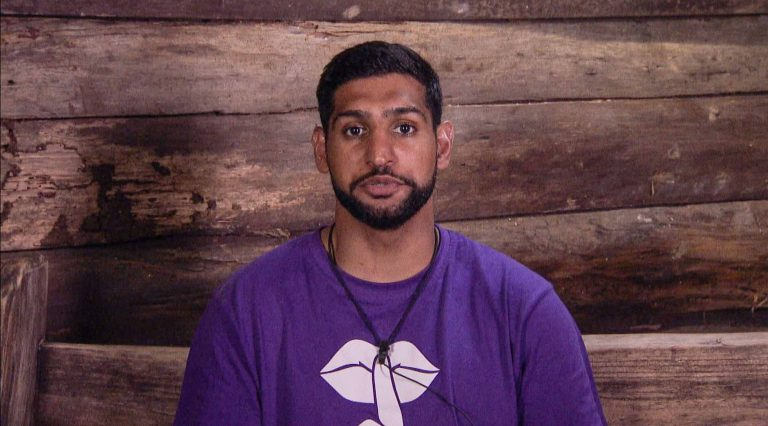 I'm A Celebrity's Amir Khan donates a portion of his '£300,000' fee to charity!