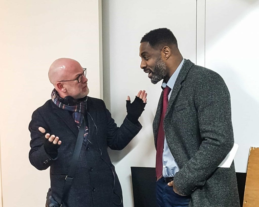 Idris Elba pictured for the first time filming for Luther series 5
