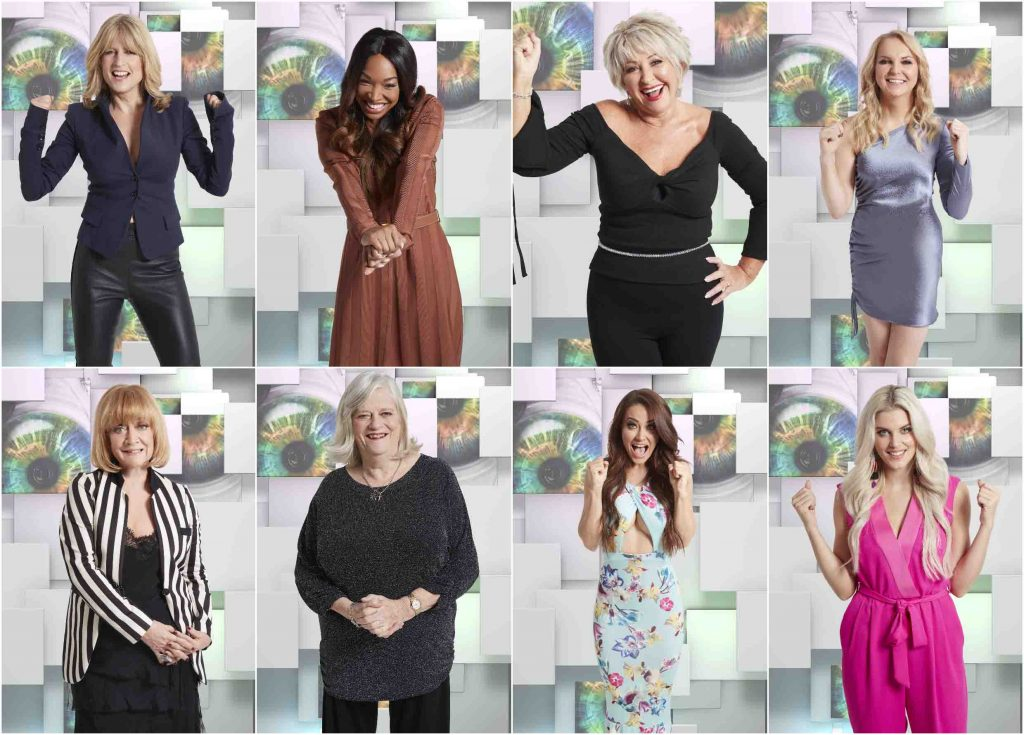 Celebrity Big Brother's cast, whose average age is 18 ...