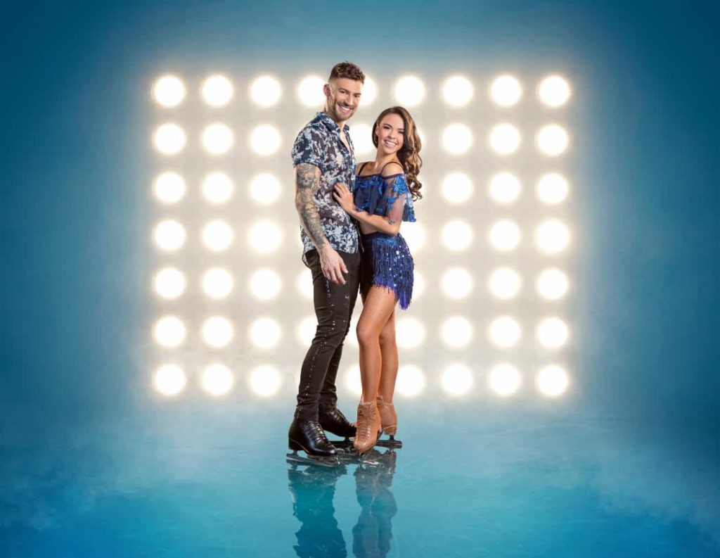 Vanessa Bauer and Jake Quickenden
