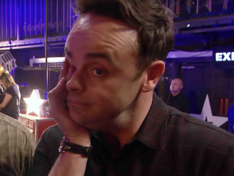 Ant McPartlin 'bursts into tears' backstage at Britain's Got Talent auditions