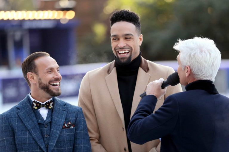 Dancing On Ice judge Ashley Banjo says there are 'backstage romances happening'