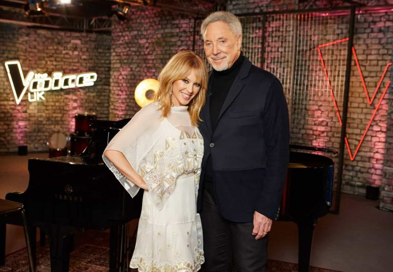 Kylie Minogue confirmed to return to The Voice UK as a mentor to help Sir Tom Jones