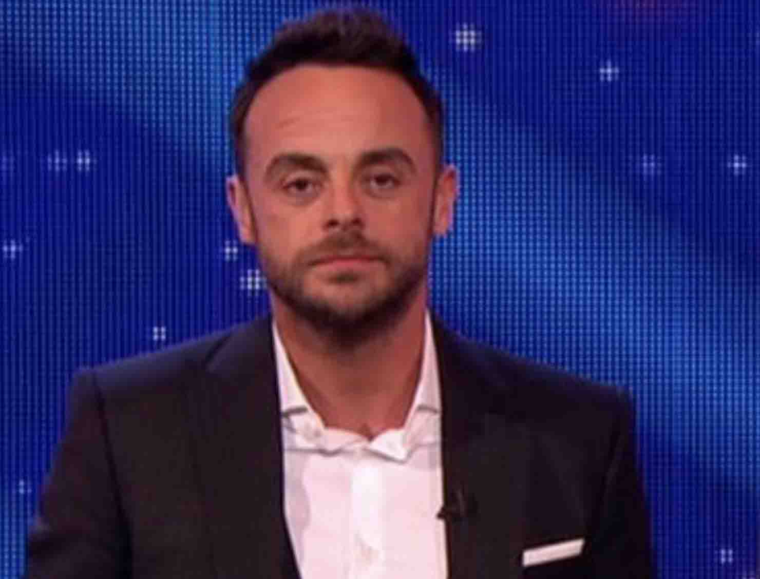 Ant McPartlin held over drink-driving after collision