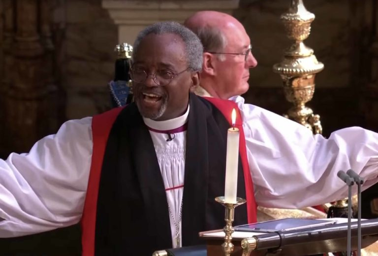 Royal wedding Bishop Michael Curry to open Britain's Got Talent final with special message