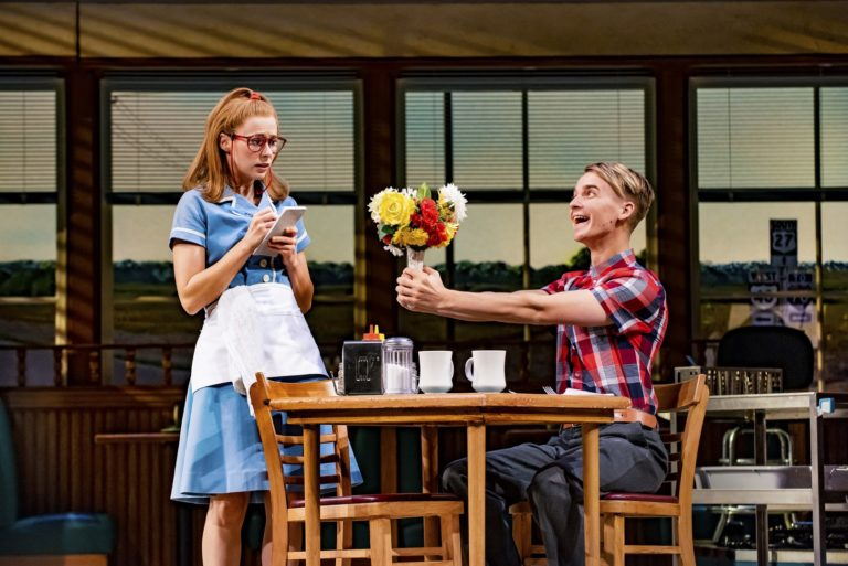 First look at Joe Sugg ahead of his first performance in Waitress